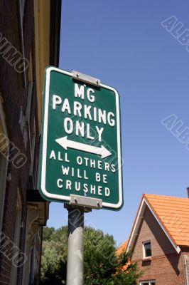 Alternative sign