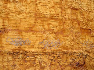 Abstract Foam Wall
