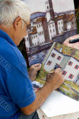 Man Painting 3