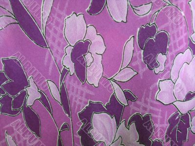 violet shiffon cloth