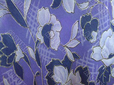 blue shiffon cloth