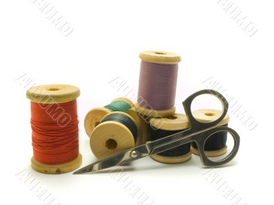 Threads and scissors