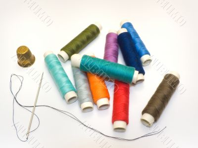 Threads and needle