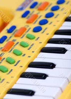 Child`s electric piano