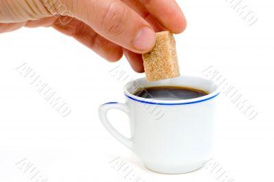 sugar first