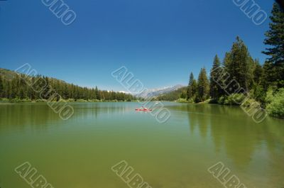 Hume Lake in Sequoia National Park