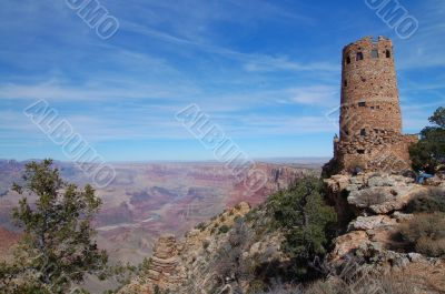 Watchtower at Grand Canyon