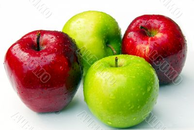 Apples Cluster