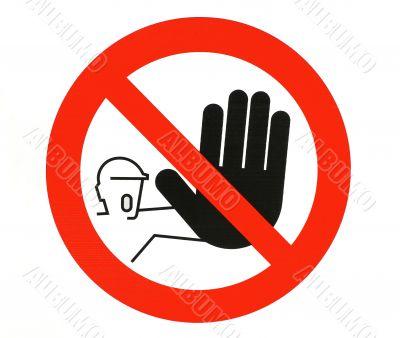Warning Sign....Stop