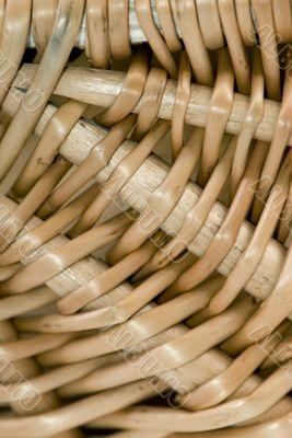 Wicker Basket close up 2