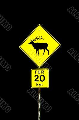 Elk sign