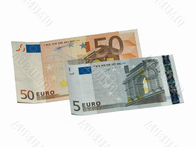 Fifty and five euros