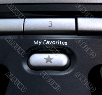 Favorites button