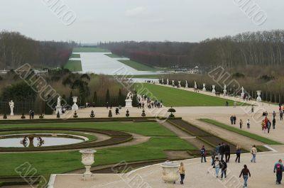 Versailles park, France