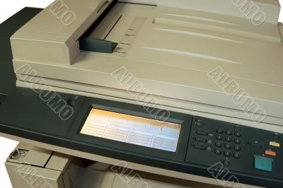 Colour laser copier