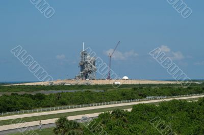 Kennedy Space Center launch station