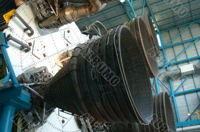 Old rocket detail