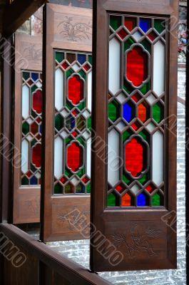Column of windows