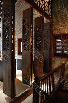 Doorway of Chinese house