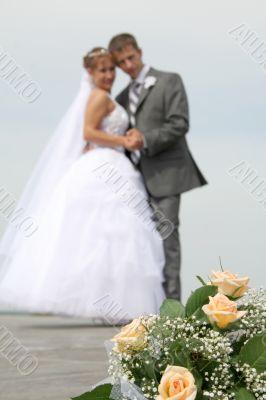bouqet of bride