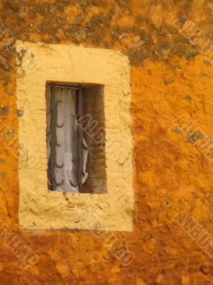 Old rustic window