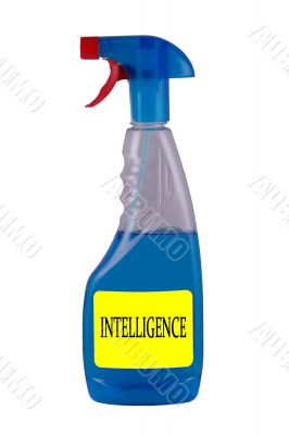 Intelligence spray isolated