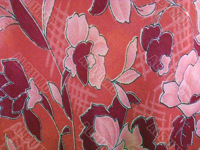 floral shiffon cloth
