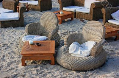 Comfortable beach