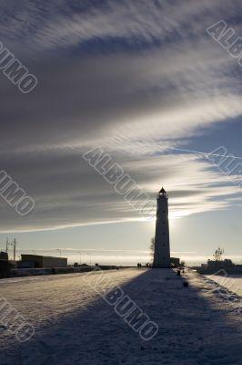 Lighthouse in Kronstadt