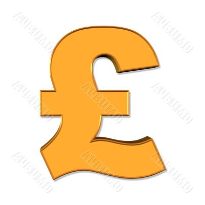 English pound symbol
