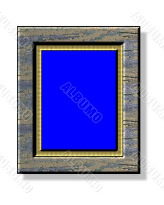 Painting frame for picture rate 4:3