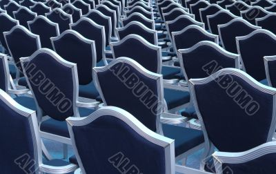 Seats in lecture hall