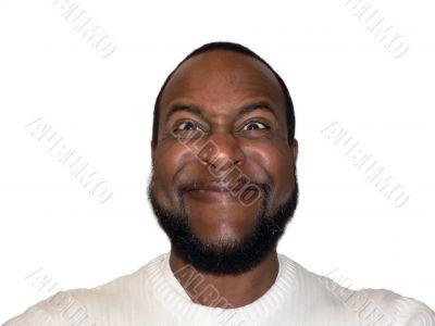 facial expression - funny sadistic grin