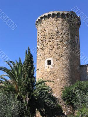 Ancient mediterranean watchtower (Costa Brava, Spain)