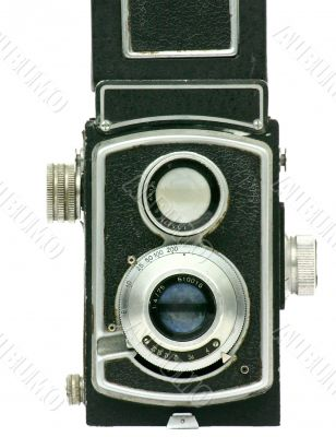 Manual photo camera