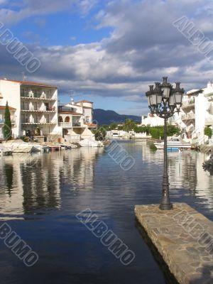 Empuriabrava residential marina (Costa Brava, Spain)