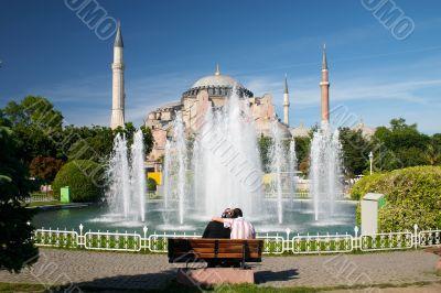 teen moslem couple