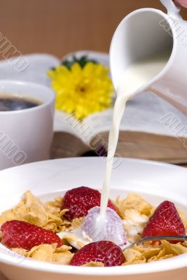Cereal with Strawberries 2