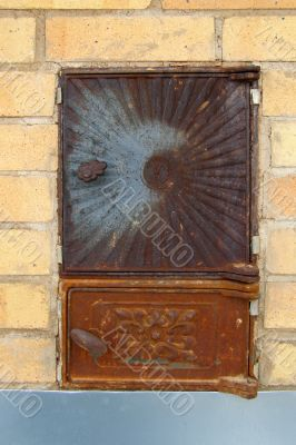 stove door