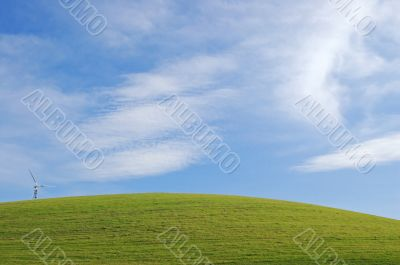 Camera pointed at grass