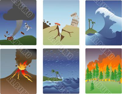 natural disaster minitures