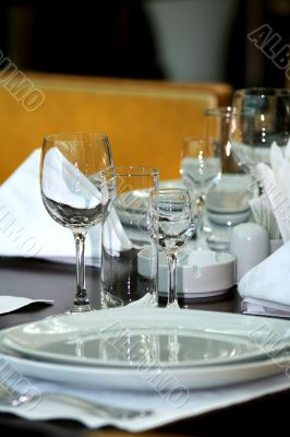 Banquet table  /  Dinner Place Setting