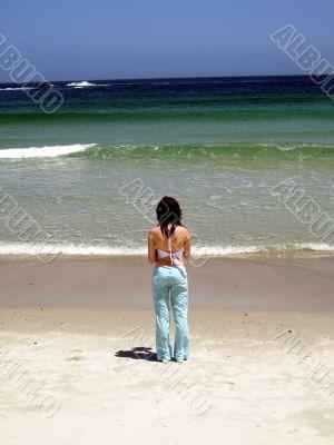 A girls & Ocean