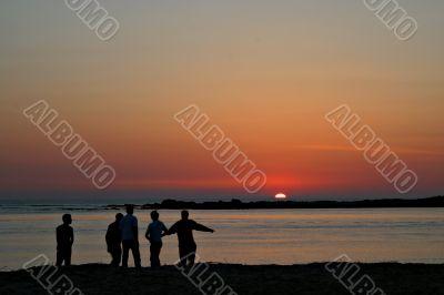 Sunset talk