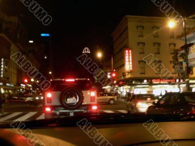 washington dc street scene