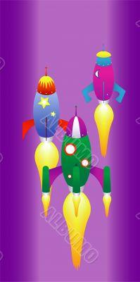space rocket race