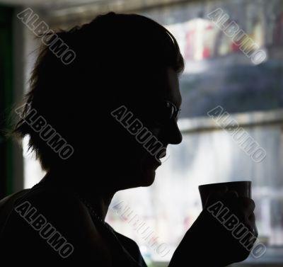 Coffee Silhouette