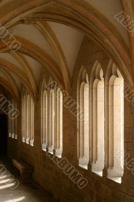 Abbey walkway