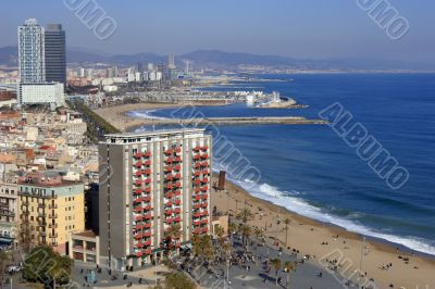 Port Olympic, Barcelona.
