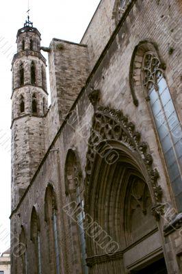Church in Barcelona, Spain.